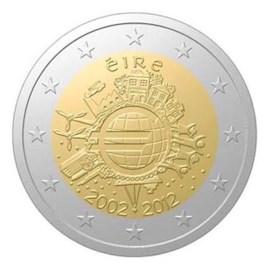 """Ierland 2 Euro """"10 Jaar Euro"""" 2012"""