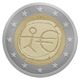 "Ierland 2 Euro ""10 Jaar EMU"" 2009"