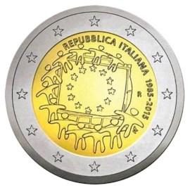 """Italië 2 Euro """"Europese Vlag"""" 2015"""