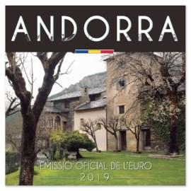 Andorre Set BU 2019