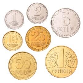 Ukraine UNC Set 1992-2005