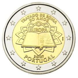 "Portugal 2 Euro ""Rome"" 2007"