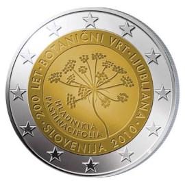 """Slovenië 2 Euro """"Botanische Tuinen"""" 2010"""