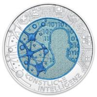 "Austria 25 Euro ""Artificial Intelligence"" 2019"