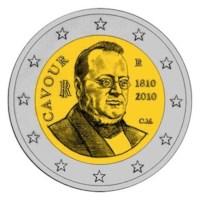 "Italië BU Set 2010 met 2 Euro ""Cavour"""