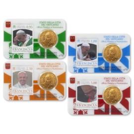 Vatican Coincard + Stamp Set 2016