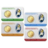 Vaticaan Coincard + Postzegel Set 2016