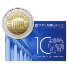 "Estland 2 Euro ""Universiteit"" 2019 BU Coincard"