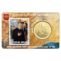 Vaticaan Coincard + Postzegel Set 2019 #3