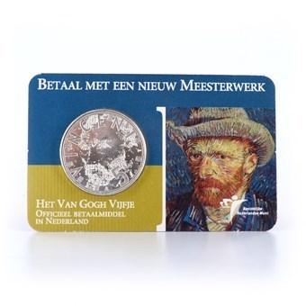 5 Euro 2003 Van Gogh Vijfje UNC Coincard