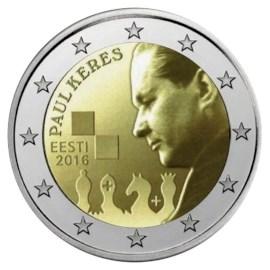 "Estland 2 Euro ""Paul Keres"" 2016"