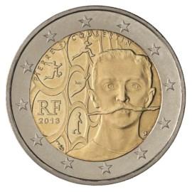 """Frankrijk 2 Euro """"Coubertin"""" 2013"""