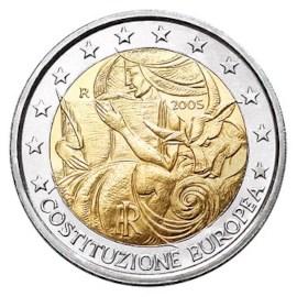 """Italië 2 Euro """"Europese Grondwet"""" 2005"""