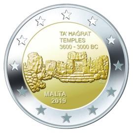 "Malta 2 Euro ""Ta' Hagrat"" 2019"