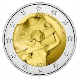 "Malta 2 Euro ""Onafhankelijkheid"" 2014"