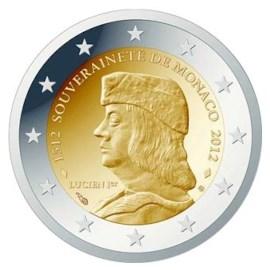 "Monaco 2 Euro ""Lucien"" 2012"