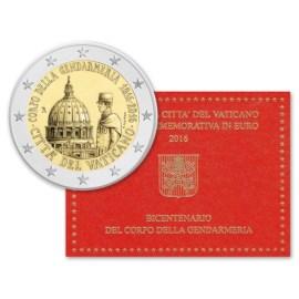 "Vaticaan 2 Euro ""Gendarmerie"" 2016 BU"