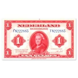 """1 Gulden """"Wilhelmina"""" 1943 ZF+"""