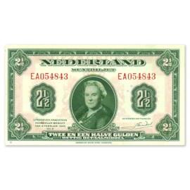 """2,5 Gulden """"Wilhelmina"""" 1943 UNC"""