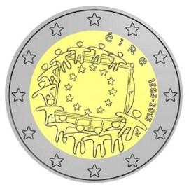 "Ierland 2 Euro ""Europese Vlag"" 2015"