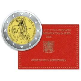 """Vaticaan 2 Euro """"Barmhartigheid"""" 2016 BU"""