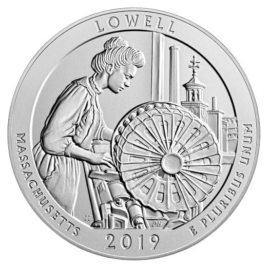"""US Quarter """"Lowell"""" 2019 D"""
