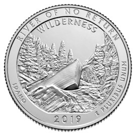 "US Quarter ""River of No Return"" 2019 D"