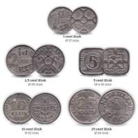 Zinc War Coin Set