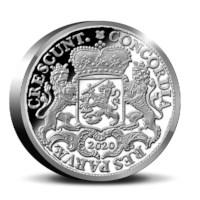 Officiële Herslag: Dukaton Platina 2 Ounce - Koninklijke Tichelaar editie