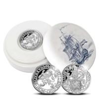 Officiële Herslag: Leeuwendaalder 2020 Zilver 1 Ounce - Royal Delft editie