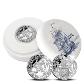 Official Restrike: Lion Dollar 2020 Silver 1 Ounce - Royal Delft edition