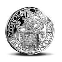 Official Restrike: Lion Dollar 2020 Silver 1 Ounce - Royal Delft edition