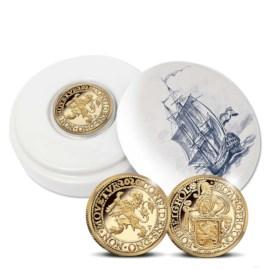 Officiële Herslag: Leeuwendaalder 2020 Goud 1 Ounce - Royal Delft editie