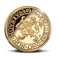 Official Restrike: Lion Dollar 2020 Gold 1 Ounce - Royal Delft edition