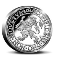 Official Restrike: Lion Dollar 2020 Silver 2 Ounce - Royal Delft edition