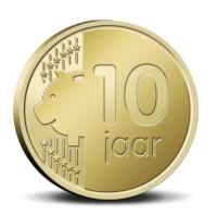 10 jaar Week van het geld in coincard