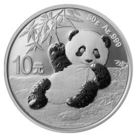 China Zilveren Panda 2020