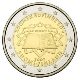 """Finland 2 Euro """"Rome"""" 2007"""