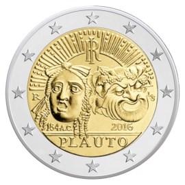 "Italië 2 Euro ""Plauto"" 2016"