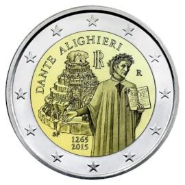 "Italië 2 Euro ""Dante"" 2015"