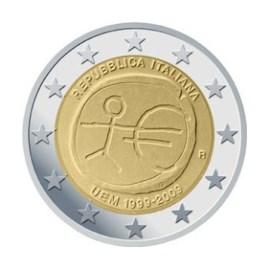 """Italië 2 Euro """"10 Jaar EMU"""" 2009"""