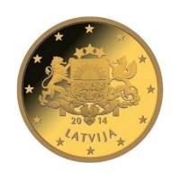 Letland UNC Set 2014