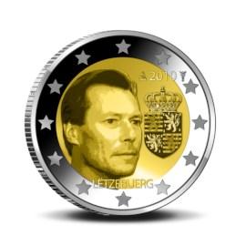 "Luxemburg 2 Euro ""Wapen van Henri"" 2010 UNC"