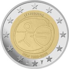 "Luxemburg 2 Euro ""10 Jaar EMU"" 2009"