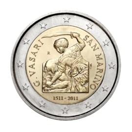 "San Marino 2 Euro ""Vasari"" 2011"