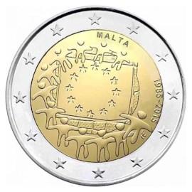 """Malta 2 Euro """"Europese Vlag"""" 2015"""