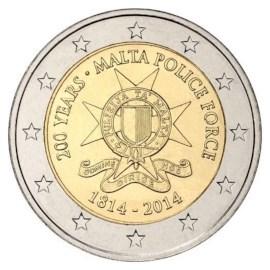 "Malta 2 Euro ""Police Force"" 2014"