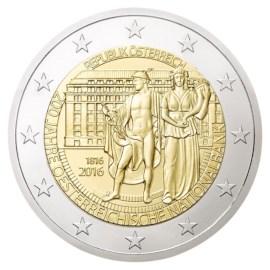 """Oostenrijk 2 Euro """"Nationale Bank"""" 2016"""