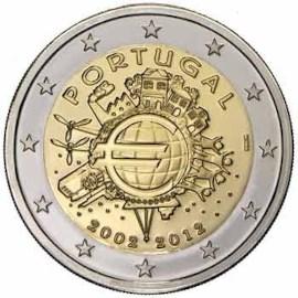 "Portugal 2 Euro ""10 Jaar Euro"" 2012"