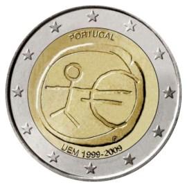"""Portugal 2 Euro """"10 Jaar EMU"""" 2009"""